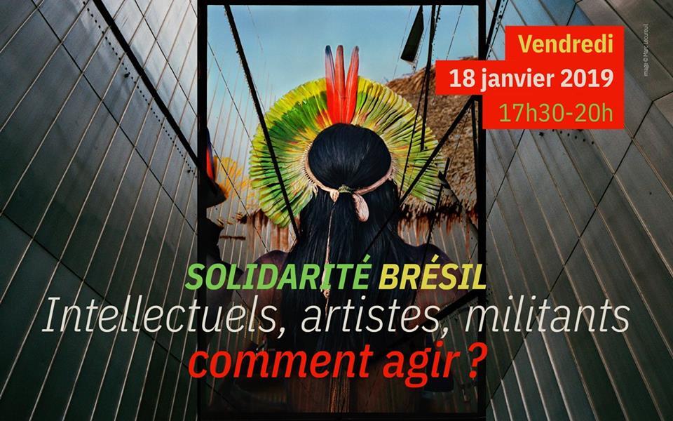 Solidarité Brésil. Intellectuels, artistes, militants